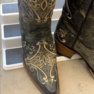 Circle G Boots filigree style Corral